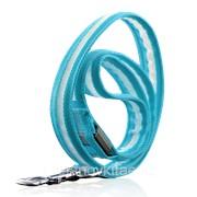 Поводок для собаки с синим светодиодным индикатором (водонепроницаемость, Ultra Durable) фото