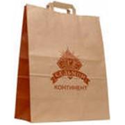Пакеты бумажные типа 'саше' из коричневой (бурой) крафт-бумаги либо из белой крафт-бумаги. фото