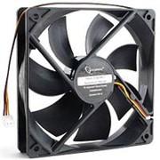 Вентилятор 12 вольт 120 x 25 гидродинамический подшипник 3pin 30см 1800 об*мин Gembird D12025HM-3 фото