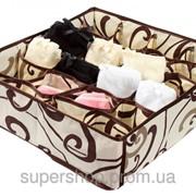 Коробочка для белья на 24 секции Молочный Шоколад 103-1022520 фото