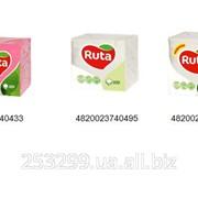 Салфетки Ruta 24х24 100 л 4820023740495 фото