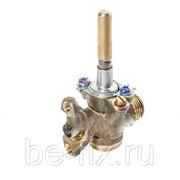 Кран газовый большой горелки для газовой плиты Beko 131261028. Оригинал фото