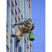 Мойка окон, мойка витрин, мойка окон Киев, мойка фасадов, мойка окон после ремонта фото