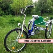 Трехколесный велосипед для двоих ДАБЛ фото