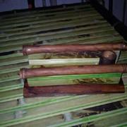 Салфетница из бамбука. фото