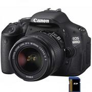 Цифровой фотоаппарат Canon EOS 600D EF-S 18-55mm DC (5170B158) фото