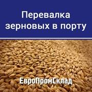 Перевалка зерновых в Днепро-Бугском морском порту фото