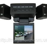 Видеорегистратор автомобильный DVR H3000 2 камеры 000938 фото