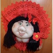 Сувенірні ляльки-попики фото