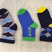 Носки детские Н627-11 синий фото