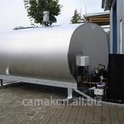 Молочный танк для прицепа или пикапов на раме O-400 фото
