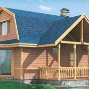 Проект деревянного дома 70-05 фото