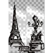 Обработка пескоструйная на 2 стекло артикул 106-01 фото