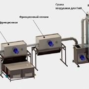 Линия переработки пленки (200кг/ч)  фото