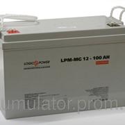 Аккумулятор мультигелевый LogicPower LPM-MG 12 - 100 AH фото