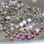 Стразы ДМС Crystal AB (хамелеоны) ss 16 (4мм). 100шт фото