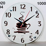 Часы 20х20 см, артикул № 104 фото