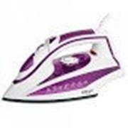 Утюг DELTA LUX DL-352 фиолетовый: 2200 Вт, подошва с КЕРАМИЧЕСКИМ покрытием, сухое глажение, разбрыз фото