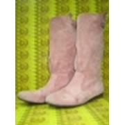 Химчистка обуви из нубука фото