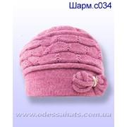 Вязаные шапки Lirus модель Шарм фото