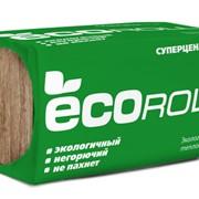 Теплоизоляция ЭКОРолл+ TS040 1230х610х100х8 фото