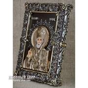 Эксклюзивная Настольная Икона Святой Николай Код товара: ООс-МН33 фото