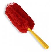 Щетка для уборки пыли, красная фото