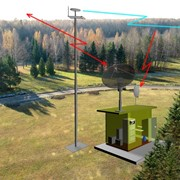 Автономная многофункциональная приёмо-передающая станция цифрового телевизионного вещания по стандарту DVB фото
