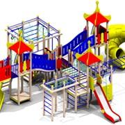 Детский игровой комплекс фото