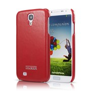 Крышка Icarer Back Cover для Samsung i9500 Galaxy S 4, красная фото