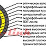 Кабель ВО SM 32 самонес 35кН 17.1мм арамид трекинг ОККПТ-0,22-32 35кН фото