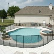 Детский забор для бассейна фото