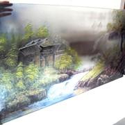 Фото печать на стекле фото