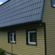 Сайдинг виниловый Блок Хаус D4,7T Docke Premium фото