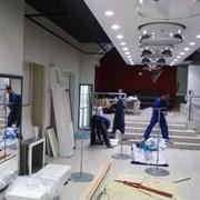 Монтаж торгового оборудования фото