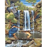 Картина по номерам Водопад фото