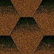 Мягкая кровля Kerabit коллекция K+ однотонная. Цвет медно-черный фото