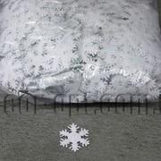 Фетровые заготовки-снежинки белые 3 см 1000 шт 570207 фото
