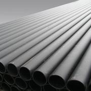 Труба ПЭ (ПНД) гладкая черная d 110, 125, 140, 160, 180, 200, 225, 250 фото