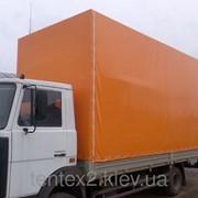 Тент на грузовой автомобиль. фото