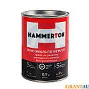 Грунт- эмаль по ржавчине 3 В 1 HAMMERTON ЧЕРНАЯ 0,9 Л фото
