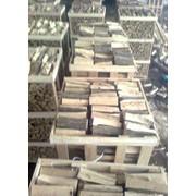 Древесина топливная в виде бревен до 1 м (дрова топливные, колотые) ГРАБ фото