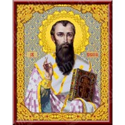 Набор для вышивания Святой Василий Великий КТК - 3053 фото