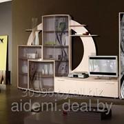 Горка стенка Каскад-2 (корпусная мебель для гостиной, Мебельсервис) фото