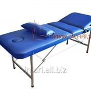 Массажный стол с подголовником и регулировкой высоты фото