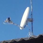 Спутниковое оборудование. фото