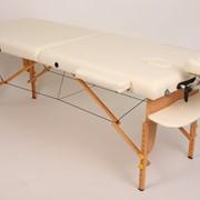 """Стол массажный деревянный переносной """"Miracle"""". Складной массажный стол MIRACLE. Раскладная кушетка для косметологии и массажа. фото"""