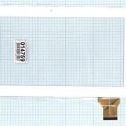 Сенсорное стекло (тачскрин) YLD-CEGA300-FPC-A0 белый, Диагональ 10.1 фото