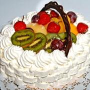 """Торт""""Форе-блон"""" фото"""