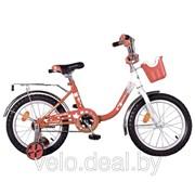 Велосипед детский Novatrack Angel 16 фото